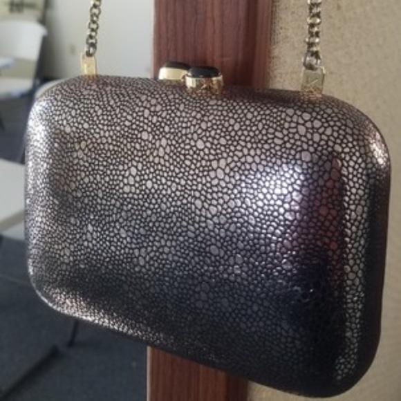 b1fc9fc0a81 kotur Bags | Morley Glitter Crackle Clutch Shoulder Bag | Poshmark